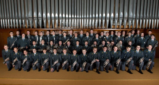 CONCERT Ecole de recrues 16-3 de la musique militaire suisse